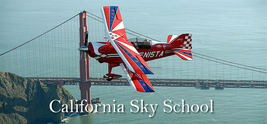 California Sky Thrills Pitts S-2C over the Golden Gate Bridge in San Francisco