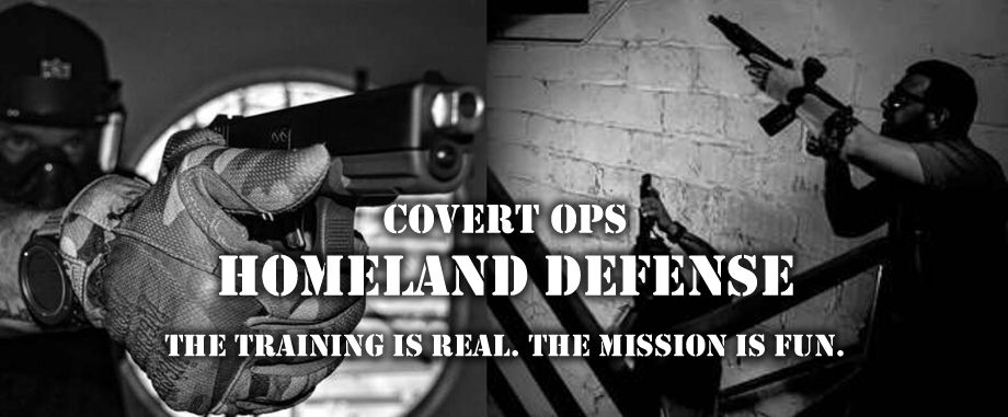 Covert Ops Homeland Defense in downtown Miami Florida. Learn Counter Terror Warfare with an Assault Rifle, Self-Defense & More.