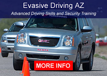 Evasive Driving advanced driving skills and security training in Arizona