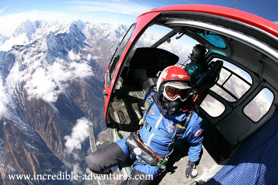 Skydive Everest Tandem Parachute Jump at the Top of the World