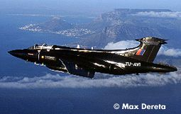 Fly the Buccaneer over Cape Town South Africa