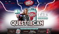 Dr. Pepper movie promotion with first prize from Incredible Adventures