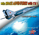 TX Europe Win Space Adventures Contest