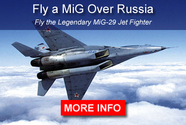 Fly a MiG over Russia. Fly the legendary MiG-29 jet fighter.