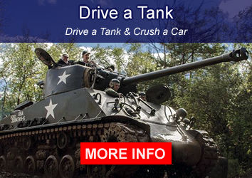 Drive a Tank. Crush a Car.