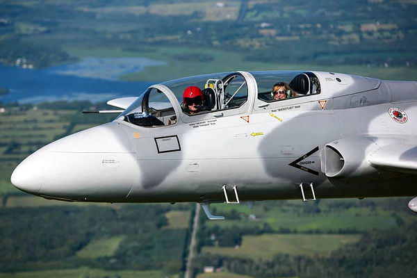 You can fly the L-29 Delfin fighter jet in Canada