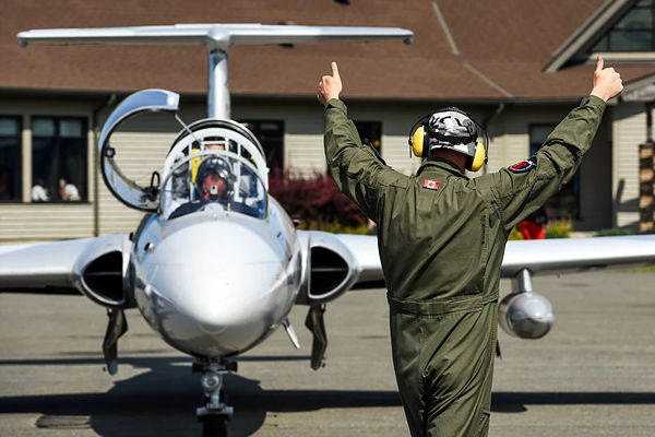 You can fly the L-29 Delfin in Canada