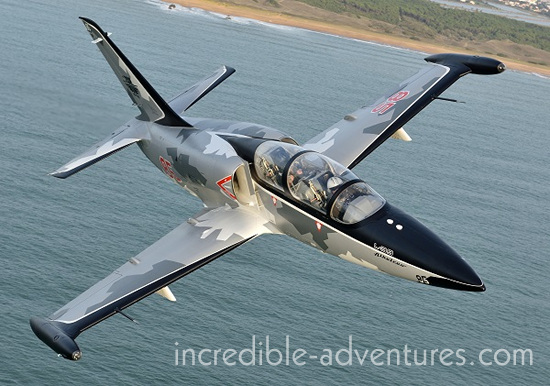 Fly the L-39 jet fighter over France with Incredible Adventures!