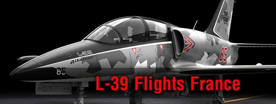 Fly the L-39 Albatros fighter jet over France