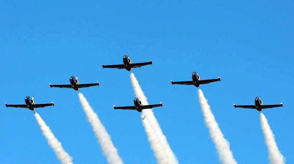 Fly the L-39 C Albatros with the elite aerobatic team Baltic Bees. Formation flights available.