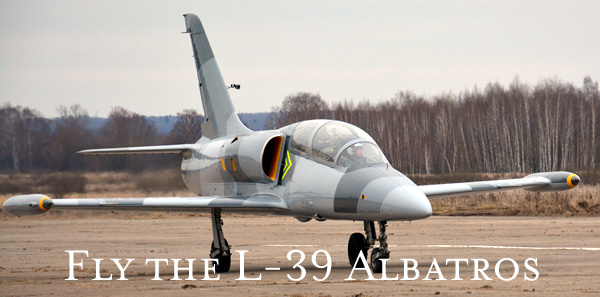 Fly the L-39 Albatros over Russia