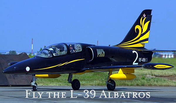 Fly the L-39 Albatros In Russia
