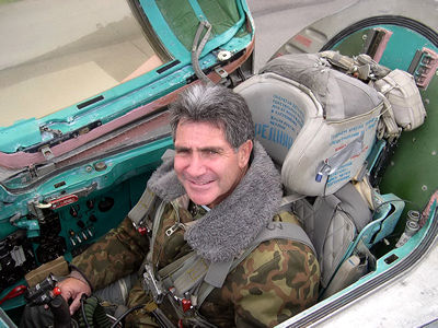 Fly Migs Over Moscow Photos Lou In The Cockpit Of The Mig 25
