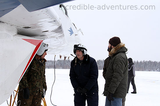 Luke flew a MiG-29 in Russia with Incredible Adventures and pilot Sergei Kara.