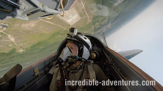 Fly to the Edge of Space in the MiG-29 Fulcrum Fighter Jet