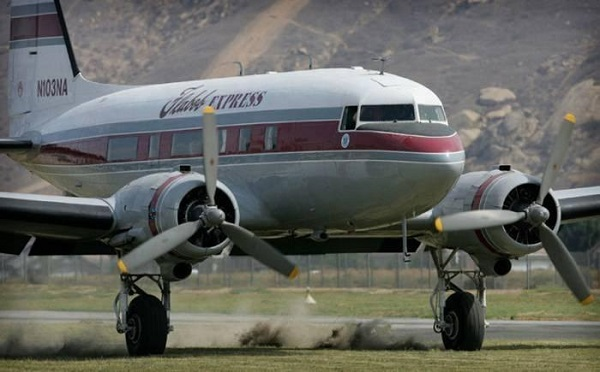 DC-3 Flights available through Incredible Adventures in California, Georgia and Florida