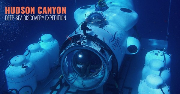 Hudson Canyon deep-sea discovery expedition