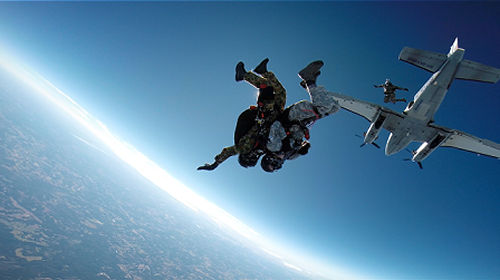 Tandem HALO Jumping - Ultimate Skydive Adventure - High
