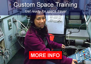 Custom Space Training Programs - prepare for space travel