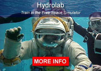 Hydrolab Free Space Simulator training