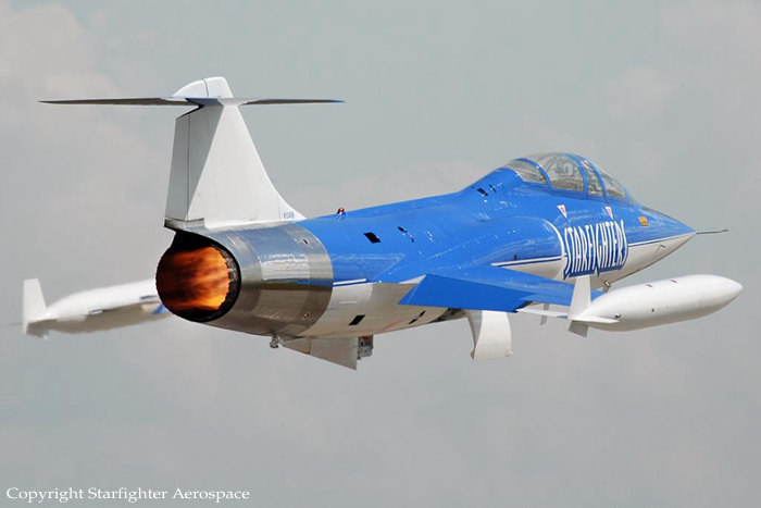 Fly the Lockheed Starfighter Fighter Jet Flights in the USA