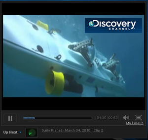 Super Aviator Video on Discovery Channel
