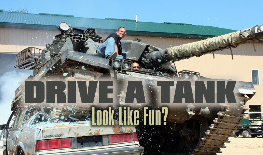 Drive A Tank >> Tank Adventures Drive A Tank Crush Some Cars