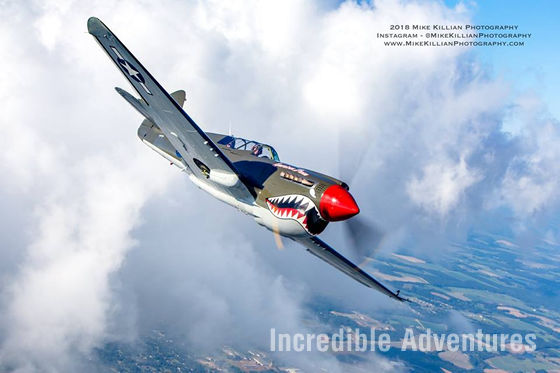 Fly the legendary P-40 Warhawk in Kissimmee, Florida