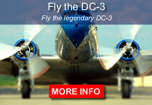 Fly the legendary DC-3